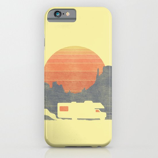 Trail of the dusty road iPhone & iPod Case