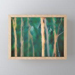 Misty Eucalypt Forest Framed Mini Art Print
