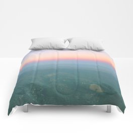 The Escape Clause (Horizontal) Comforters