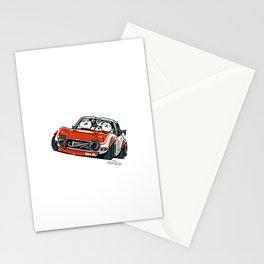 Crazy Car Art 0136 Stationery Cards