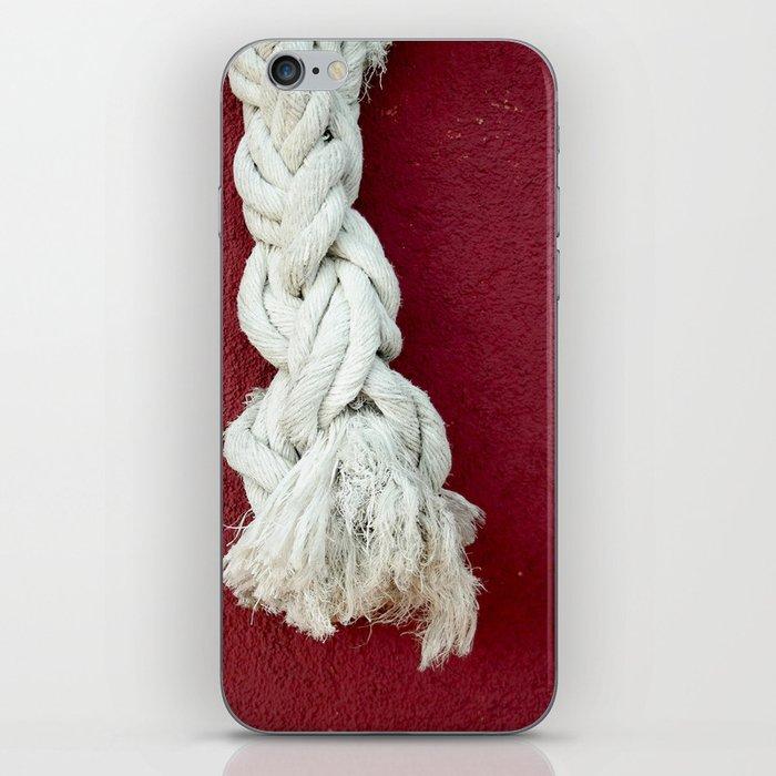 Marine rope iPhone Skin
