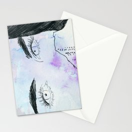 Purple Feeling Stationery Cards