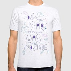 Haikuglyphics - Dear Someone Mens Fitted Tee Ash Grey SMALL