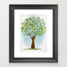 Life tree Framed Art Print
