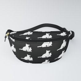 Dog and Cat BFFs Fanny Pack