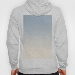 IVORY BONES - Minimal Plain Soft Mood Color Blend Prints Hoody