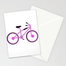 Girls BMX bike Stationery Cards