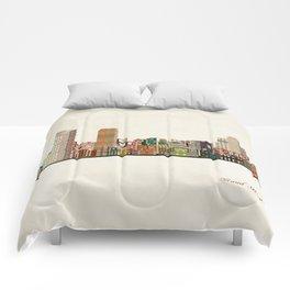 grand rapids michigan skyline Comforters