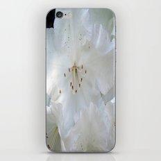 White Satin iPhone & iPod Skin
