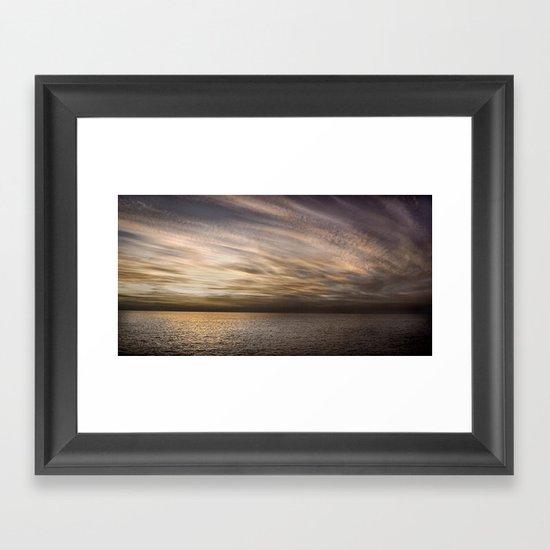 Atlantic Framed Art Print