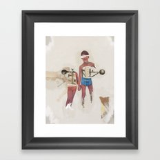 Hermandad Framed Art Print