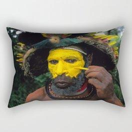 Papua New Guinea Adventure Rectangular Pillow