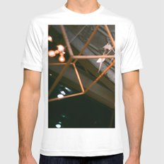 while we dream MEDIUM White Mens Fitted Tee
