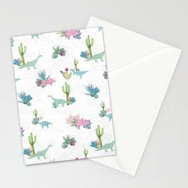 Triassic Garden Stationery Cards