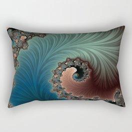 Velvet Crush - Fractal Art Rectangular Pillow