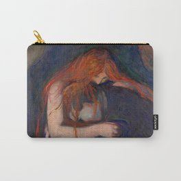 Edvard Munch - Love and Pain (The Vampire) Carry-All Pouch