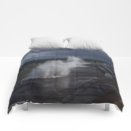A Gale to Blow Out the Year (Chicago Waves Collection) Comforters