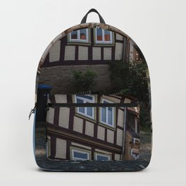 Germany Blankenburg (Harz) Street Houses Cities Building Backpack
