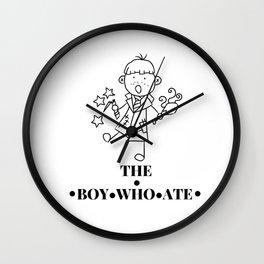 The Boy Who Ate Line Art - Ron Weasley Wall Clock