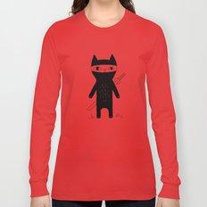 Ninja Cat Long Sleeve T-shirt