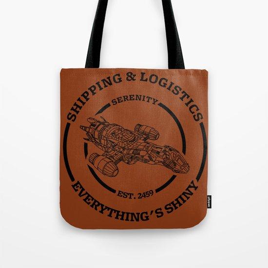 SERENITY SHIPPING AND LOGISTICS Tote Bag