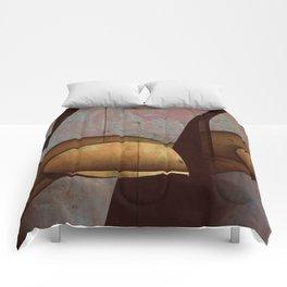 Through The Cracks Comforters