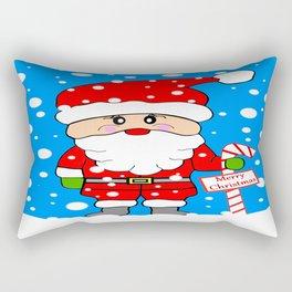 Merry Christmas Santa Rectangular Pillow