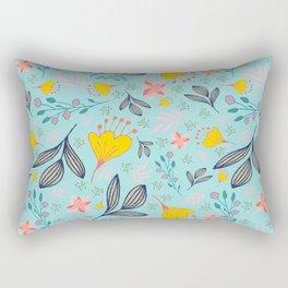 Spring Flowers Style A Rectangular Pillow