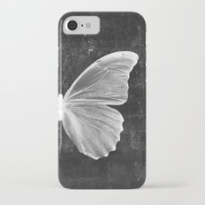 Butterfly in Black iPhone 7 Slim Case