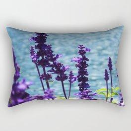 Violet Swiss Rectangular Pillow