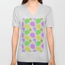 Blots, doodles, spots Unisex V-Neck