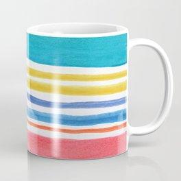 Sunny Day Stripes Coffee Mug