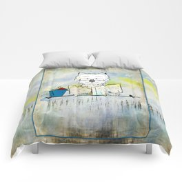 West Highland White Terrier ~ Westie ~ Sophisticated Wally ~ Ginkelmier Comforters