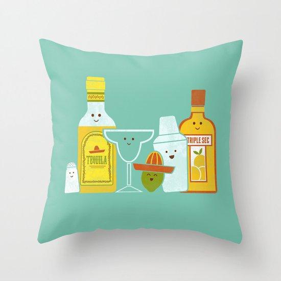 Margarita! Throw Pillow