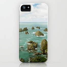 Where two oceans meet iPhone Case