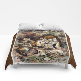 Tigers for Responsible Travel Comforters