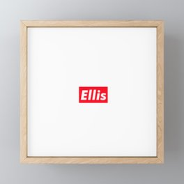 Ellis Framed Mini Art Print