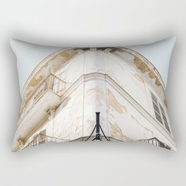 Old Vintage Buildng Rectangular Pillow
