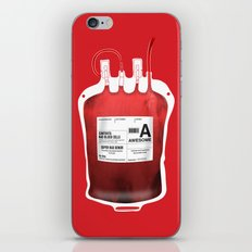 My Blood Type is A, for Awesome! *Classic* iPhone & iPod Skin