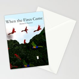 When the Fires Came book mockup Stationery Cards