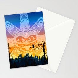 qathet Sunset Stationery Cards
