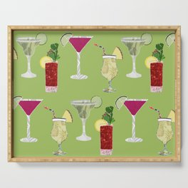 Cocktails Serving Tray
