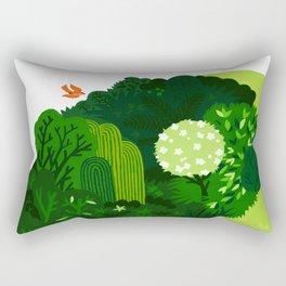 the tao of gardening Rectangular Pillow