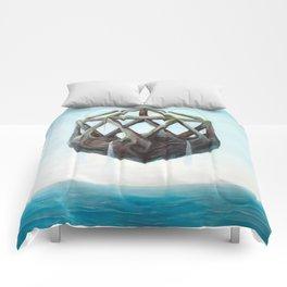 Floating Rock Comforters