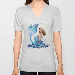 Little Mermaid Unisex V-Neck