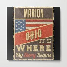 Marion Ohio Metal Print