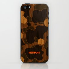 Modern Woodgrain Camouflage / Duck Print iPhone & iPod Skin