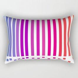 notas de color Rectangular Pillow