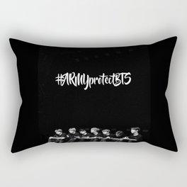 #ArmyprotectBTS Rectangular Pillow