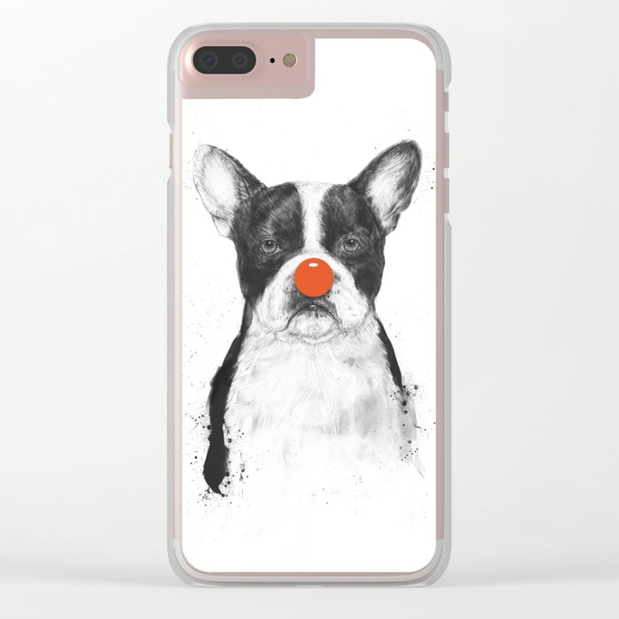 I'm not your clown Clear iPhone Case